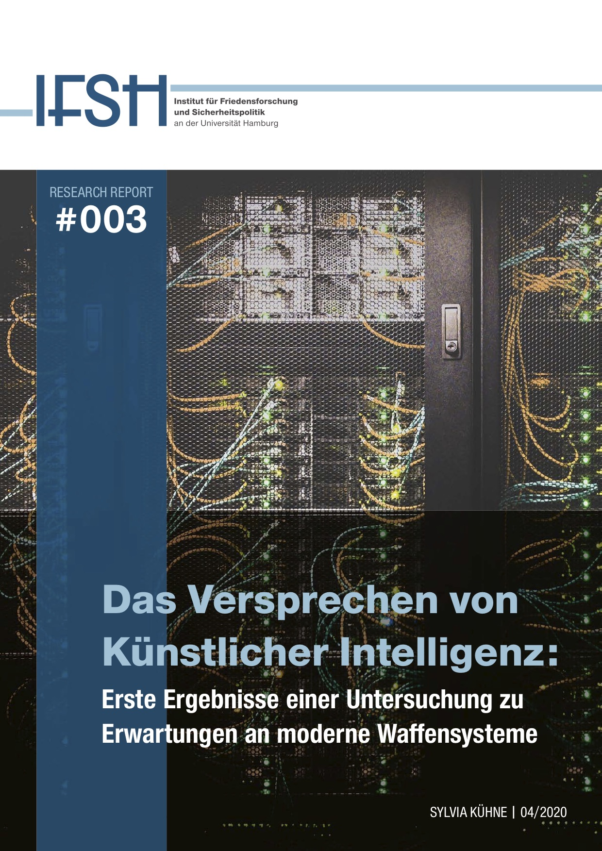 20200520_IFSH_Research_Report_003_KI_Titel